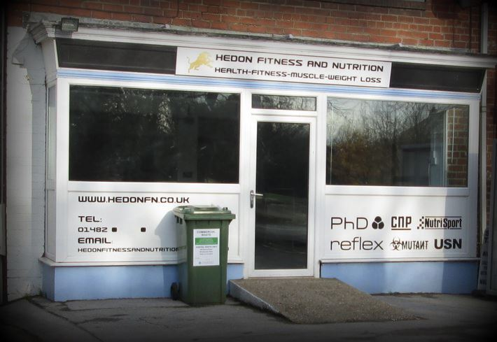 Hedon Fitness and Nutrition closed