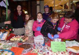 Hedon Guides Christmas Stall 2014