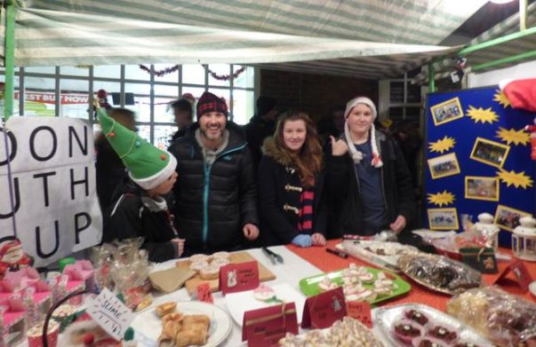 Hedon Youth Group Christmas Lights stall 2014