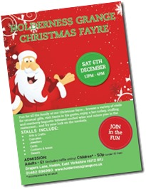 Holderness Grange Xmas Fair 2014