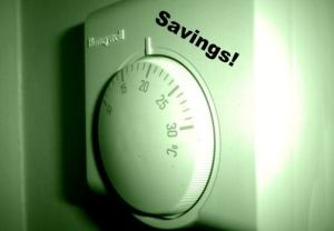Green thermostat switch