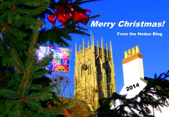 Merry Christmas from Hedon Blog 2014