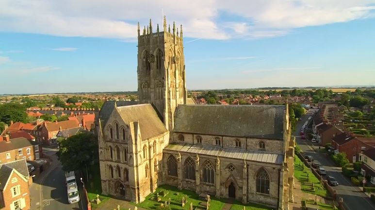 St. Augustine's by Drone!