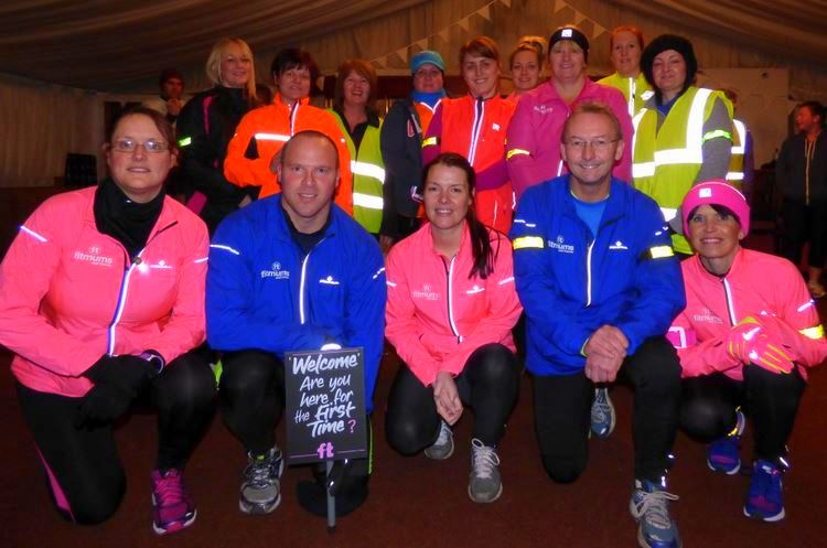 Hedon Fitmums New Year run leaders
