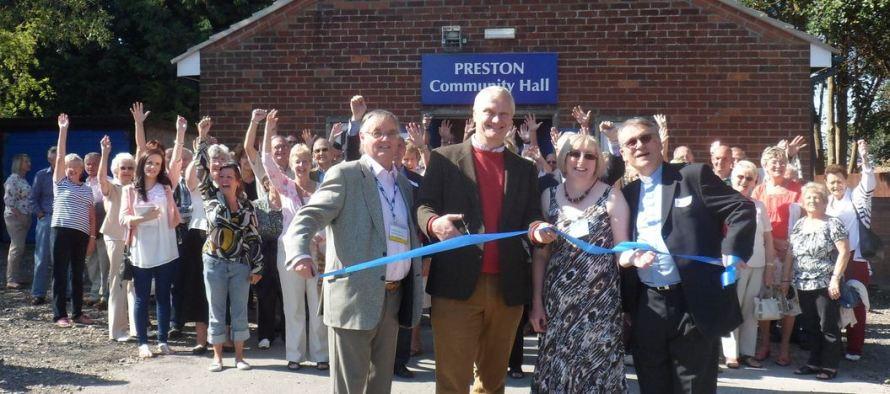 Preston Community Hall reopens