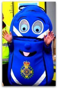CFR Kitbag mascot