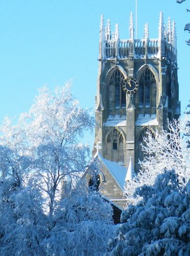 Frozen church by Jim Uney Dec 2010