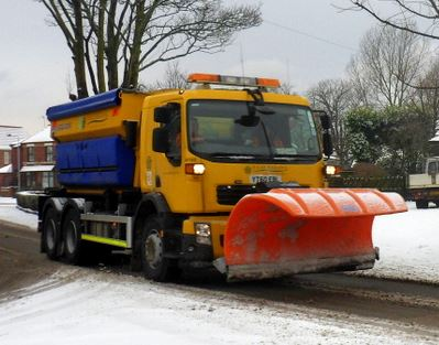 gritter snow plough Hedon