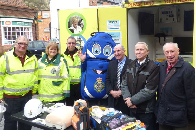 Hedon CFR and town councillors