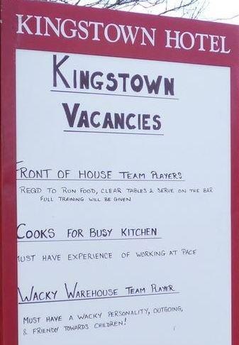 jobs Kigstown Hotel