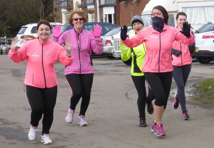 Lynne Whitehurst leads fun running