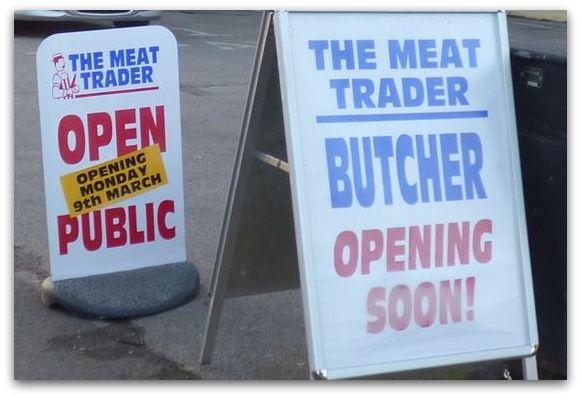 Meat Trader sign