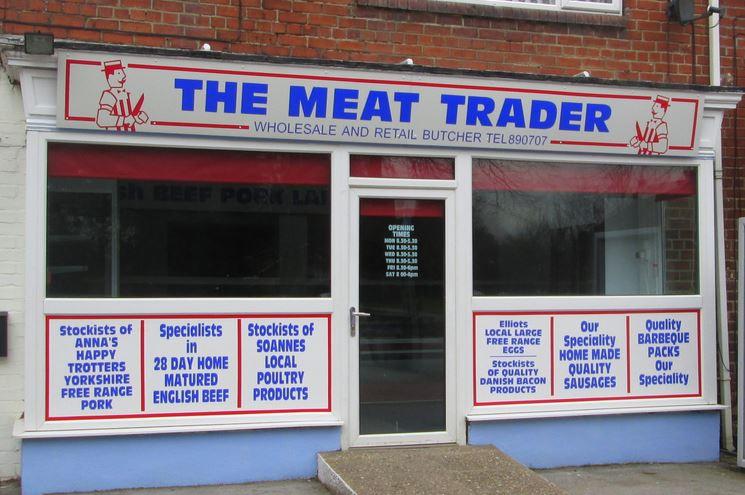 Meat Trader shop front
