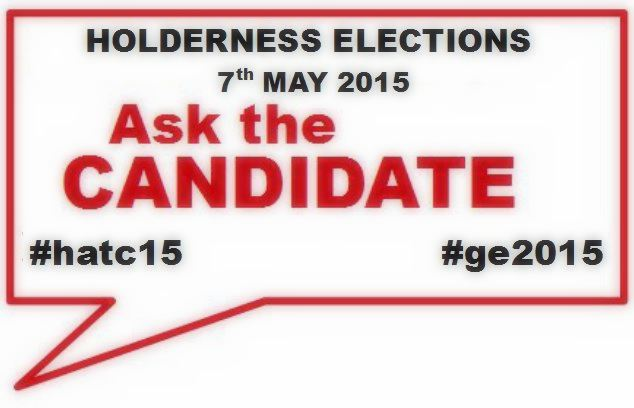 Ask the candidate Holderness