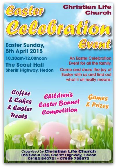 Easter Pentecostal Celebration Poster