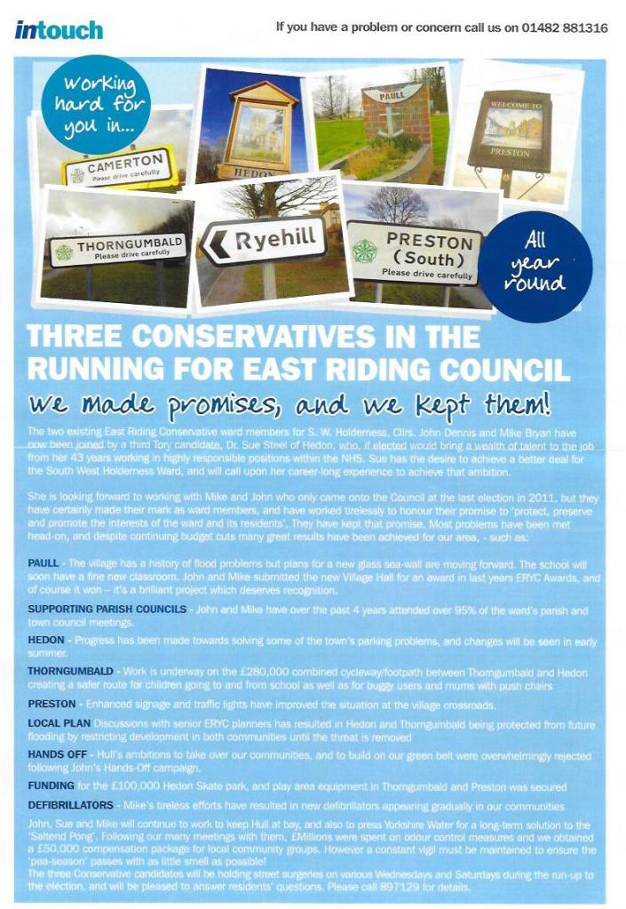 Intouch Conservatives reverse