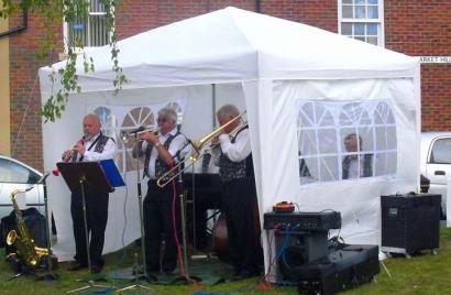 Jazz men Yorkshire Day 2010
