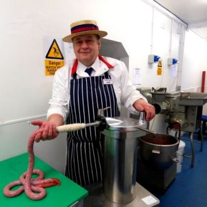 Sausages made on the premises