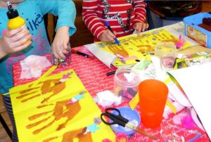 messy church for kids