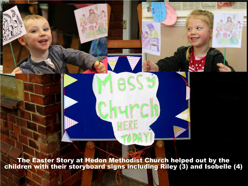 Riley Isobelle Messy Church