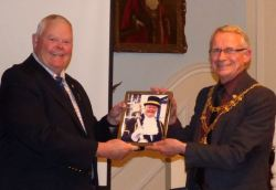 Presentation to Dave Young on his retirement as Sgt of the Mace