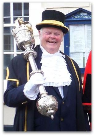 Dave Young Mace Bearer