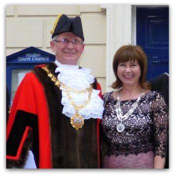 Hedon 668 Mayor and Mayoress