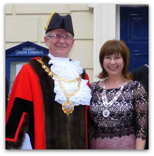 Hedon 668 Mayor and Mayoress