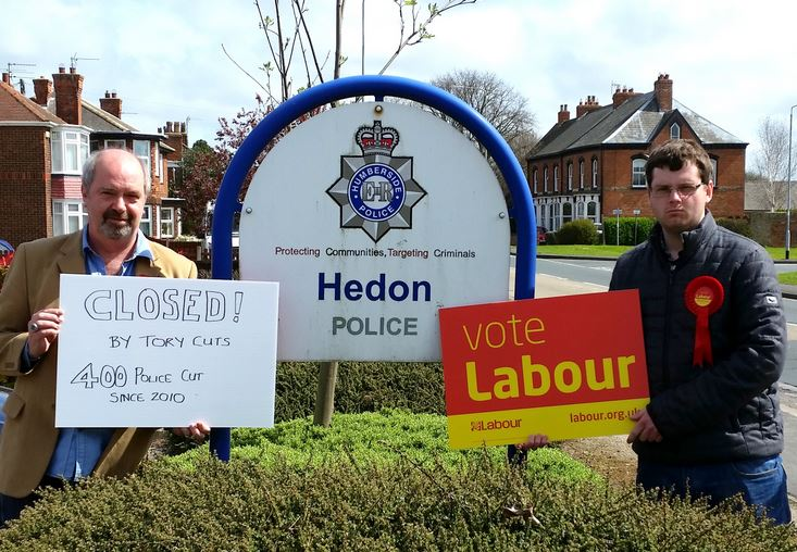 Police Station closed say Labour