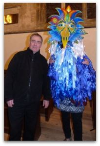 Steve Elliott Carnival Costume creation iota