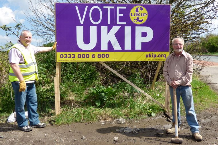 UKIP sign Paddy Fisher Terry West