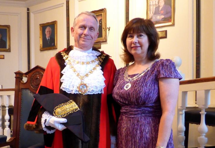 668th Mayor and Mayoress