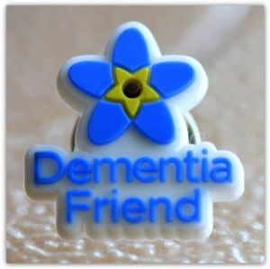 Dementia Friend Badge snip