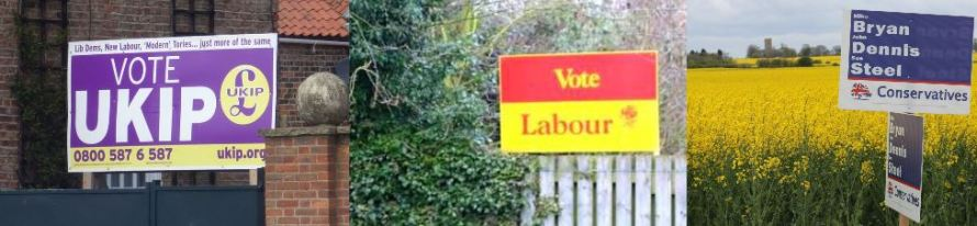 Election Posters 2015