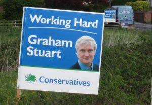 Graham Stuart Working Hard poster