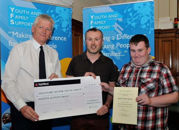 Hedon Youth Group PAG grant