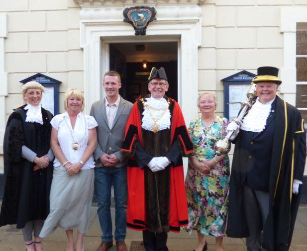 Mayor and Civic Team 2015-16