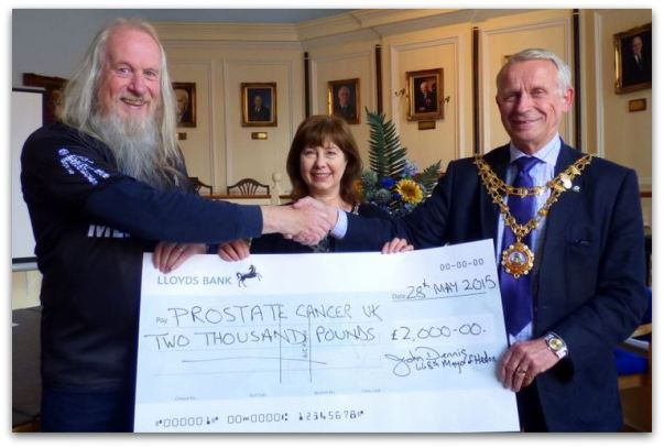 Prostate Cancer UK £2,000