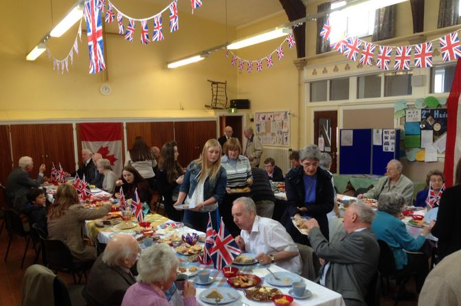 VE Day 'Street Party'