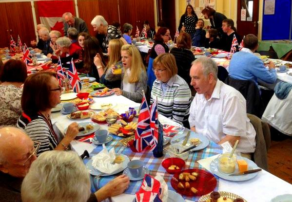Fun at VE Day 'street party'