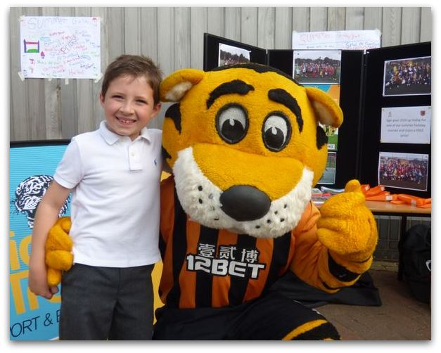 Ethan and Rory Tiger
