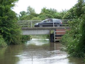 Floods 2007 - River level - Tom Bond 2