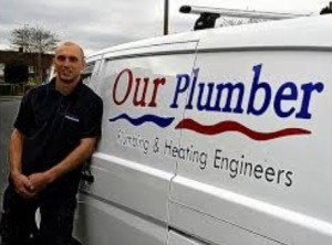 Lee Larkin - Our Plumber van