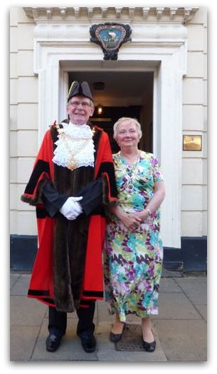 Mayor Neil Black Mayoress Linda Black