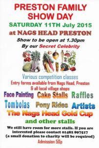 Preston Family Funday poster