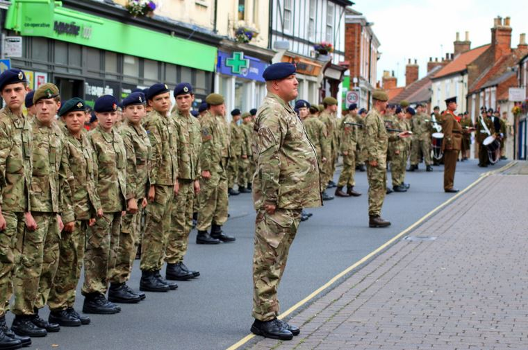Cadets Freedom of Hedon 2015
