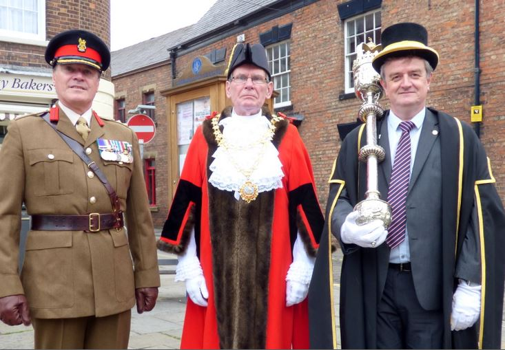 Colonel Wilkinson Mayor and Mace Bearer