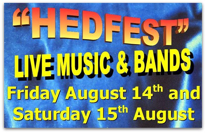 HedFest live music bands snip