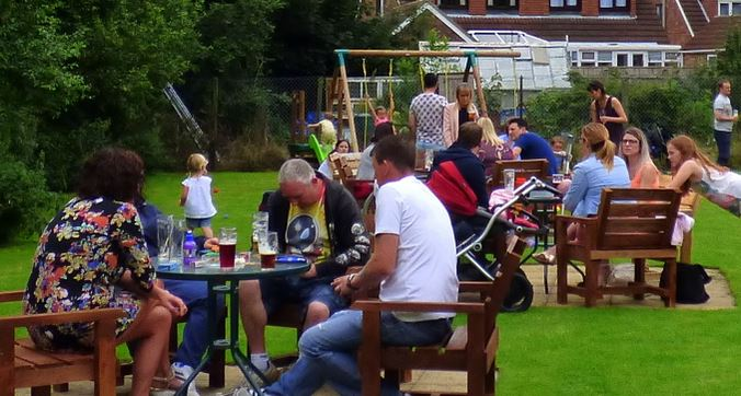 Beer garden Station