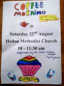 Coffee Morning - 22nd Aug
